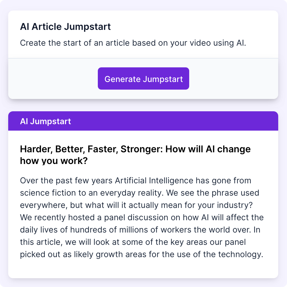Using the most advanced AI system to generate text summaries